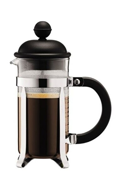 Caffettiera French Press 3 Cup Siyah 0.35 Lt