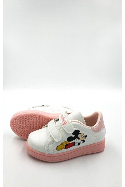 Çocuk Spor Sneaker Günlük Cırtlı Spor Ayakkabı