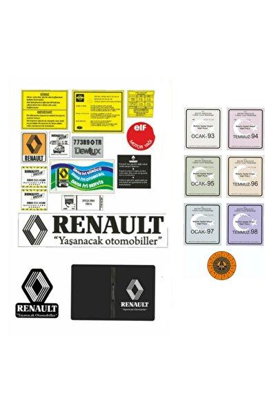 Renault Etiket Takımı Ve Pul Seti