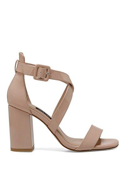 LAURA Naturel Kadın Topuklu Sandalet 100524785