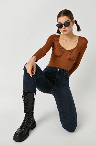Kadın Dark İndigo Jeans 1KAK47629MD