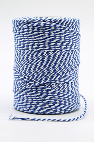 Iki Renkli Paket Ipi Mavi 2-3 mm 200 gr 200 m