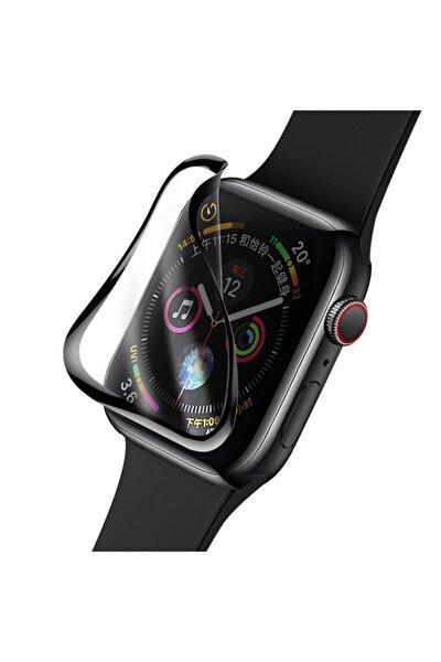 Apple Watch 44mm Polymer Ekran Koruyucu Nano Tam Kaplama