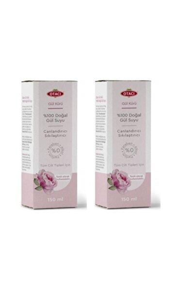 Doğal Gül Suyu Tonik Sıkılaştırıcı Canlandırıcı 150 ml Vegan 2 Adet