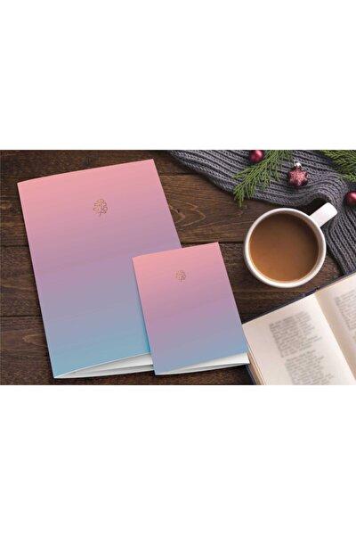 2'li Defter Set Pastel Notebook Gradient Serisi 04