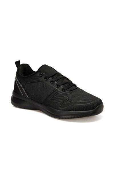SEPTOR Siyah Erkek Kalın Taban Sneaker Spor Ayakkabı 100520182