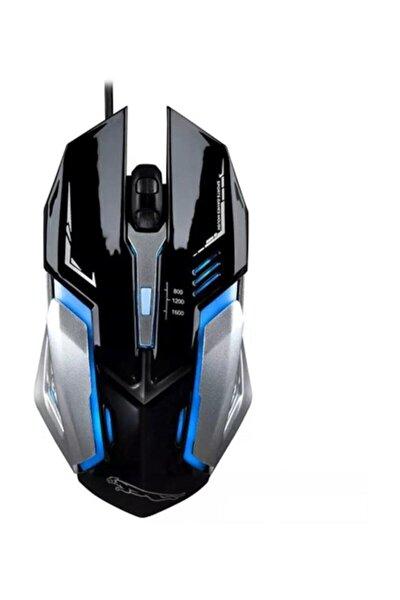 Gmx M2 Rgb Işıklı Optik Oyuncu Faresi - Gaming Mouse Siyah