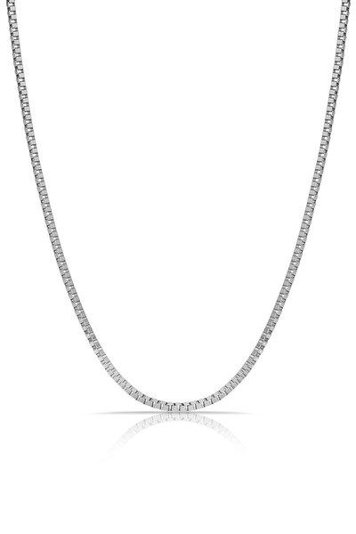 Erkek Gümüş Çelik Kolye Tmj30373-473-a