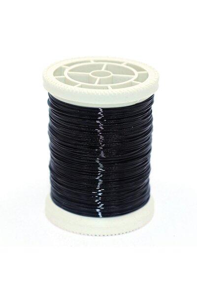 No:15 Siyah 50gr. Filografi Bakır Tel 50mt