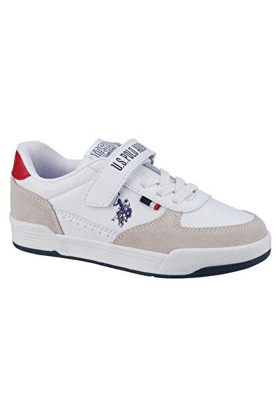 CLINE JR Beyaz Erkek Çocuk Sneaker Ayakkabı 100601459