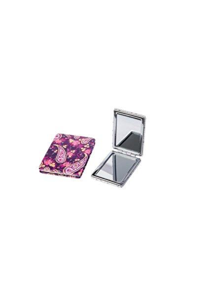 Büyüteçli Cep Çanta Aynası Kapaklı Makyaj Aparatı Arı2021-71