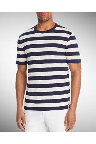 Erkek Çizgili Striped Mens Tshirt
