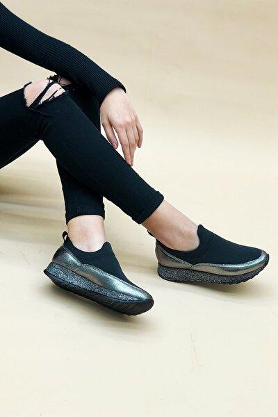 Fio Platin Bayan Spor Ayakkabı