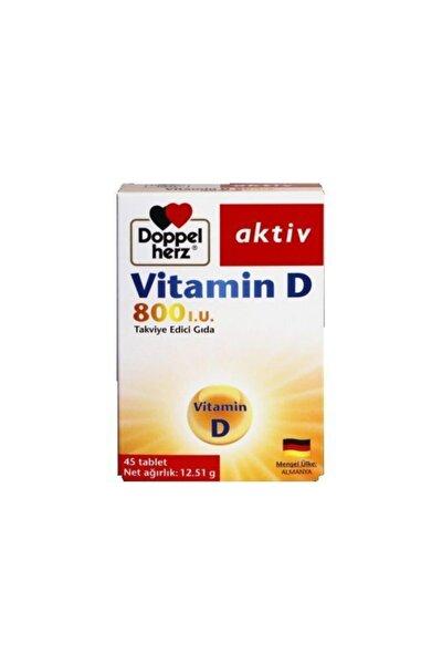 Vitamin D 800 Iu 45 Tablet