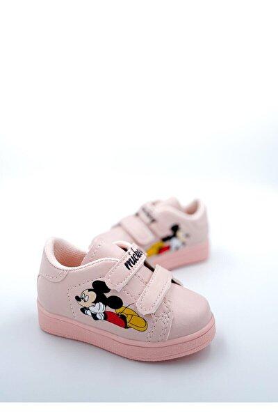 Çocuk Mc Spor Sneaker Günlük Cırtlı Spor Ayakkabı
