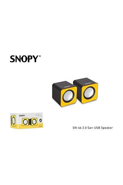 Sn-66 2.0 Usb Speaker Siyah