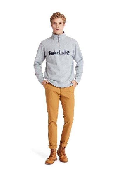 Outdoor Heritage Est.1973 Yarım Fermuarlı Erkek Sweatshirt Gri