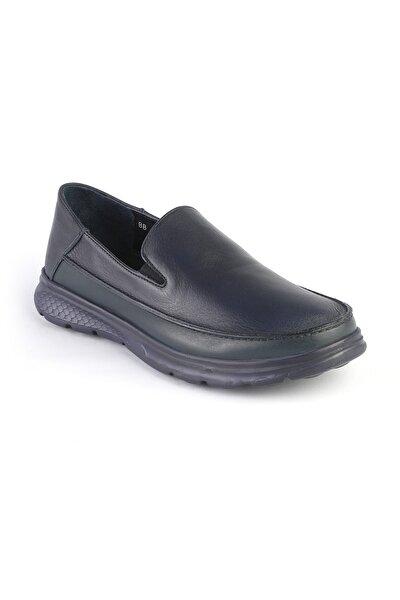 Erkek Lacivert Loafer Ayakkabı  3223