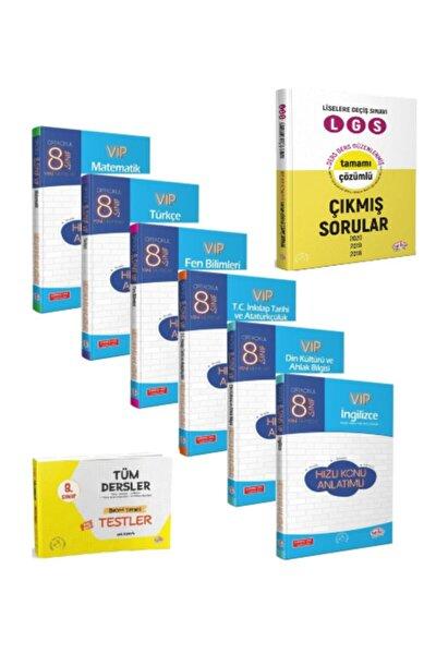8. Sınıf Vıp Hızlı Konu Anlatımlı, Yaprak Testli Ve Son 3 Yıl Lgs Çıkmış Sorular 8 Kitaplı Set