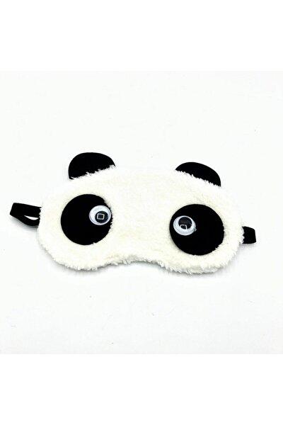 Peluş Panda Uyku Bandı - Göz Bandı
