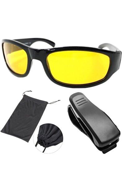 Gece Sürüş Ve Sis Gözlüğü + Gözlük Tutucu 422253