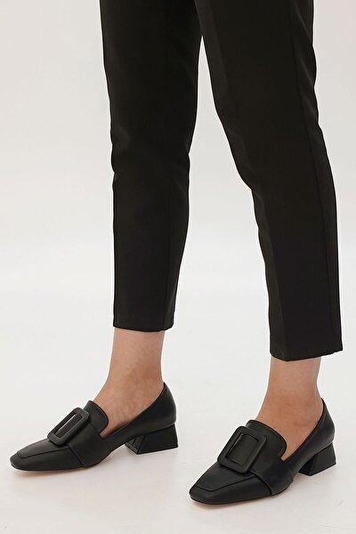 Jiyona Kadın Klasik Topuklu Ayakkabısiyah