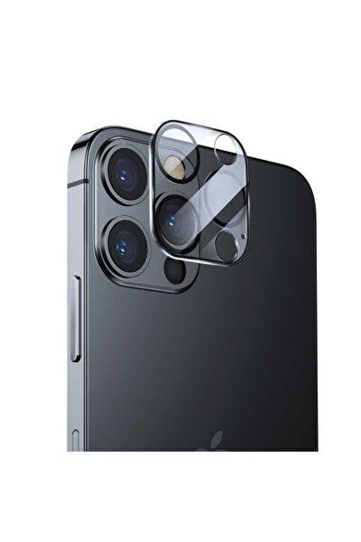 Iphone 12 Pro Max Integrated Cam Renksiz Kamera Uyumlu Lens Koruyucu