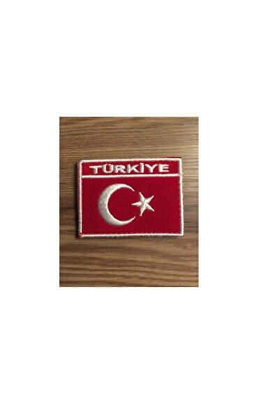Türkiye Türk Bayrağı - Ay Yıldız Patches Arma Ve Kot Yama