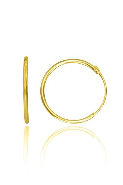 Kadın Gümüş Küpe 10/30/50/70/90mm Düz Şarnel Halka Altın/Silvr/Rose Kaplama Özel Tasarım Mücevher