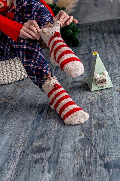 Sweet Deer Kadın Soket Çorap - Kırmızı