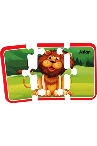 Sevimli Dostlar 48 Parça Eğitici Bebek Puzzle