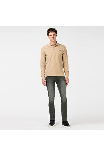 Erkek Slim Fit Gri  Slim Fit Denim Pantolon HH0011
