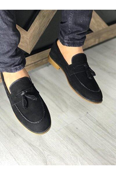 Erkek Siyah Yazlık Günlük Ayakkabı