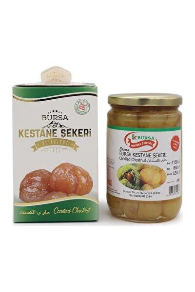 Glikozsuz Kestane Şekeri Cam Kavanoz 2000 gram