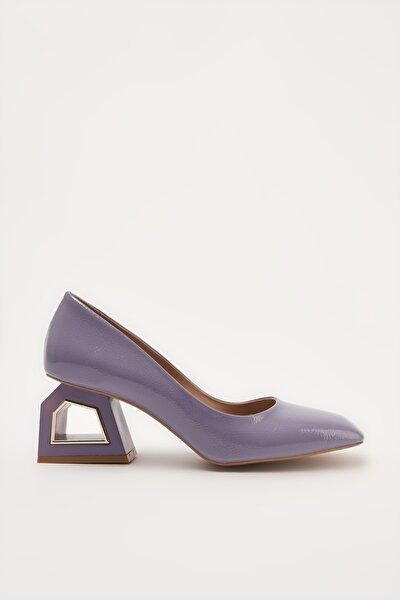 Mor Kadın Klasik Topuklu Ayakkabı 01AYH214740A660