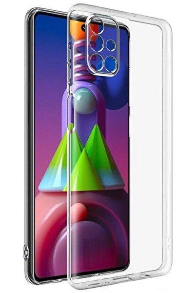 Samsung M51 Şeffaf Kılıf Darbe Emici Kamera Korumalı