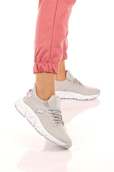 Kadın Nefes Alır Kumaş Ortopedik Eva Taban Spor Ayakkabı Sneaker Soby11020022