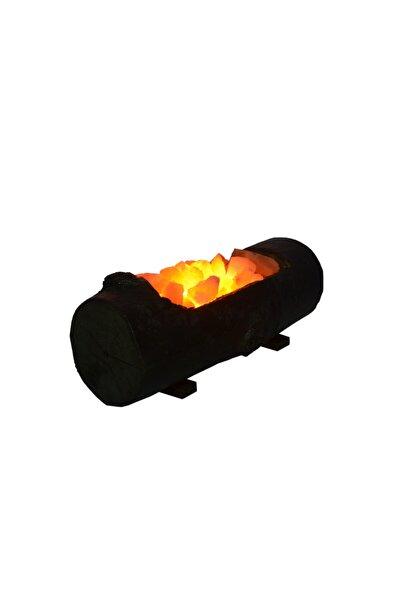 Tuz Lambası Kütük Tuz Lambası Kasa Modeli Gece Lambası