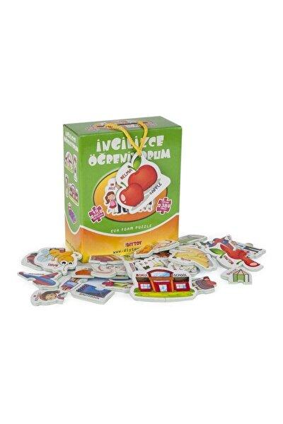 Diy-Toy Yayınları İngilizce Öğreniyorum Puzzle /