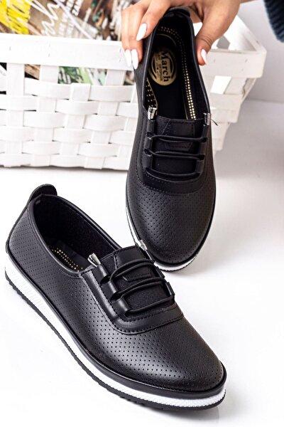 Kadın Siyah Arica Ayakkabı