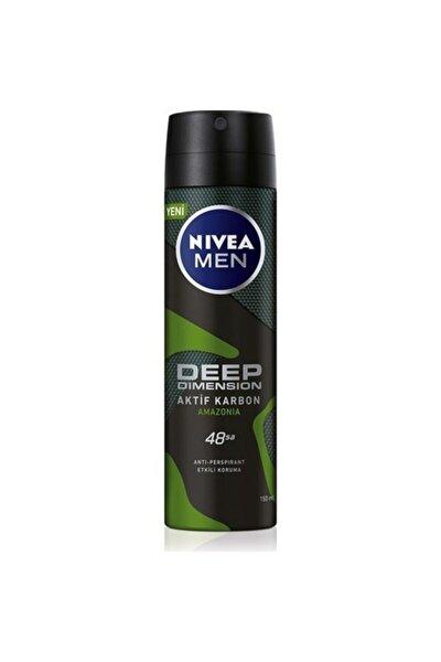Nıvea Deep Dimension Amazonia Deodorant Erkek 150 ml