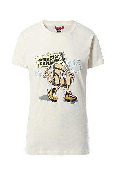 Kadın Beyaz Graphic Tişört