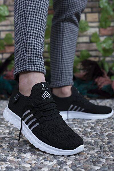 Unisex Siyah Beyaz Sneaker 0012086