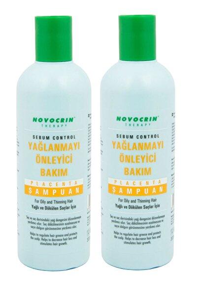 Placenta Yağlı ve Dökülen Saçlar İçin Şampuan 300 ml 2 Adet