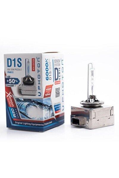 D1s 6000k +%50 Fazla Işık Serisi D1s Xenon Far Ampulü Ph4512
