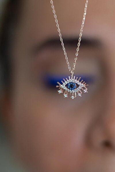 Nazar Göz Gümüş Kolye
