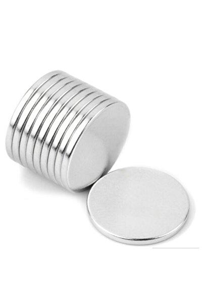 100 Adet 12mm X 1mm Güçlü Yuvarlak Neodyum Mıknatıs Magnet