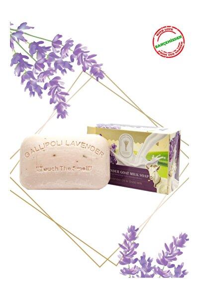 Bitkisel 100 gr Lavanta Yağlı Keçi Sütü El - Yüz - Vücut Cilt Sabunu