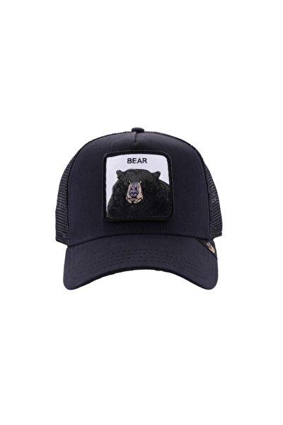Unisex Siyah Black Bear Şapka