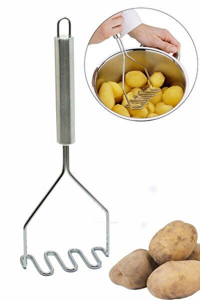 Paslanmaz Çelik Lüx Patates Ezici - 27 cm
